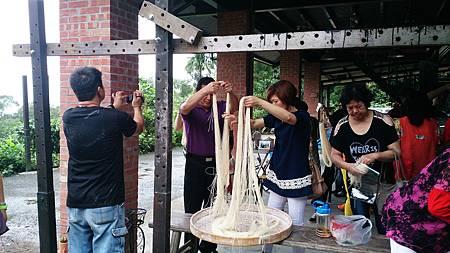 觀光工廠體驗/傳統手工麵線