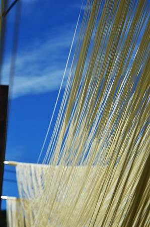 手工麵線Hand-made noodles taiwan