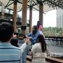 2010台北縣柑仔店活動-舞台活動,贈送石碇手工麵線.jpg