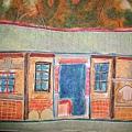 蠟筆畫房子