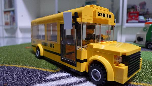 星鑽積木 82103 學校巴士 SCHOOL BUS