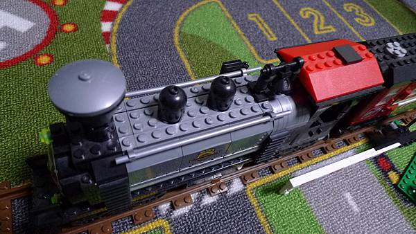 啟蒙積木 TRAIN SERIES 631 Heavy Duty Locomotive 重型蒸氣火車頭【NT $ 205】