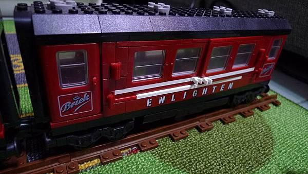 啟蒙積木 TRAIN SERIES 628 Enlignten Passenger Car 載客廂【NT $ 205】
