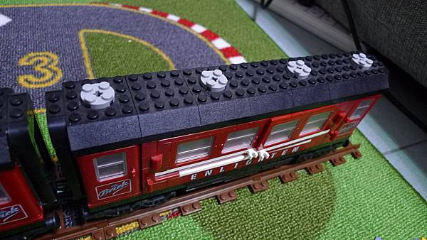 啟蒙積木 TRAIN SERIES 628 Enlignten Passenger Car 載客廂【NT $ 205】