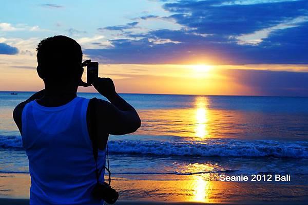 128看著日落汪洋,時間就一分一秒流失
