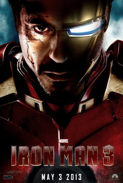 鋼鐵人3海報