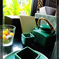34完畢後熱茶跟水果優格.jpg
