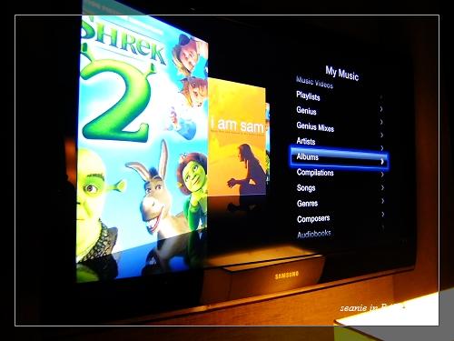 30看著配備的AppleTV打發時間.JPG