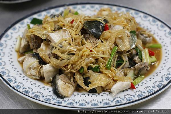 8魚頭炒菜酸
