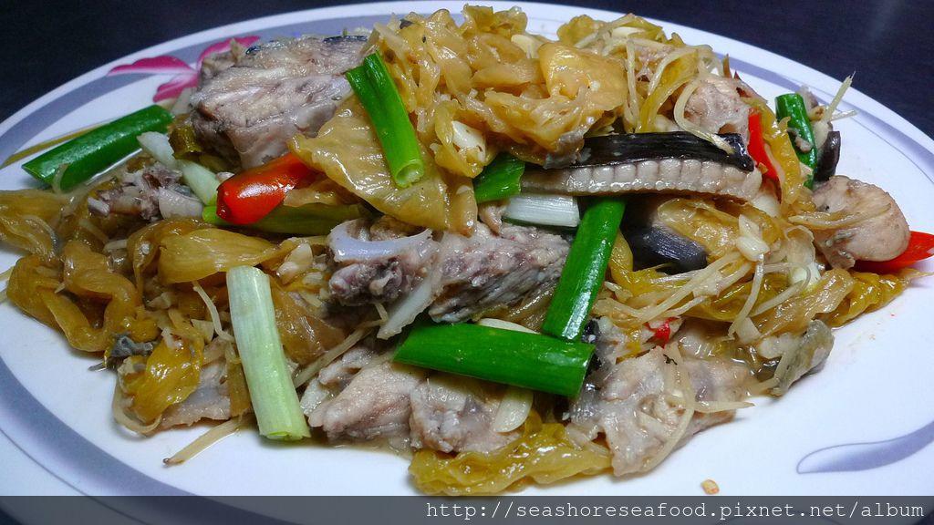 8魟魚炒菜酸