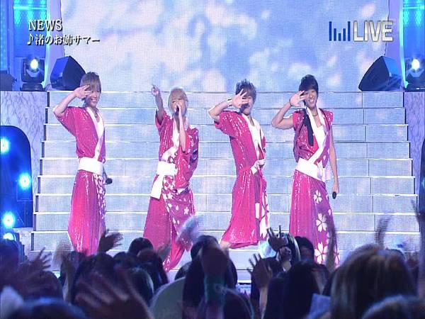 20130706THE MUSIC DAY 音楽のちから - NEWS「weeeek+渚のお姉サマー」04.JPG