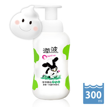 茶樹抗菌牛奶 泡泡慕絲 洗手乳