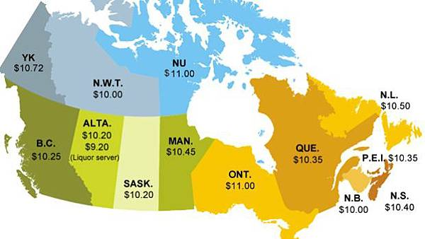minimum-wage-across-canada