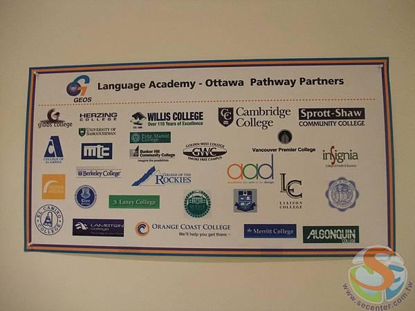 21 GESO與許多名校都有Pathway的大學入學合約 完成 語言程度就可以直接入學