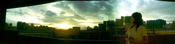 20080629 6K的夕陽.JPG