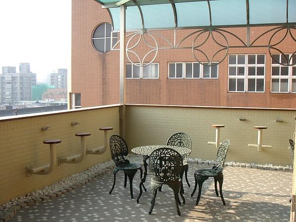 20080109七樓國際會議廳外的咖啡.JPG