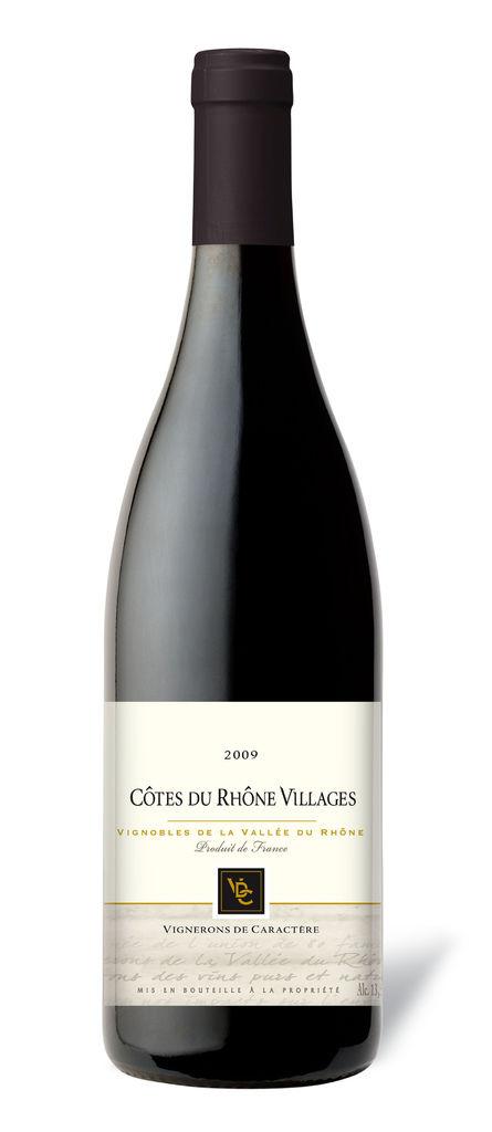 Cotes du Rhone Village Red, VDC 法國隆河丘村莊紅葡萄酒