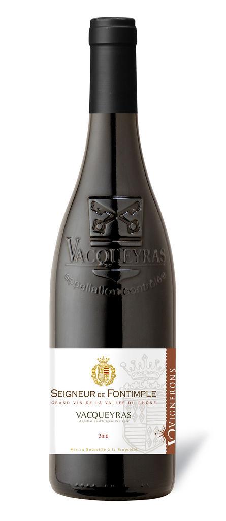 Seigneur de Fontimple Red, Vacqueyras 法國楓丹王紅葡萄酒 (SRVG07G10)