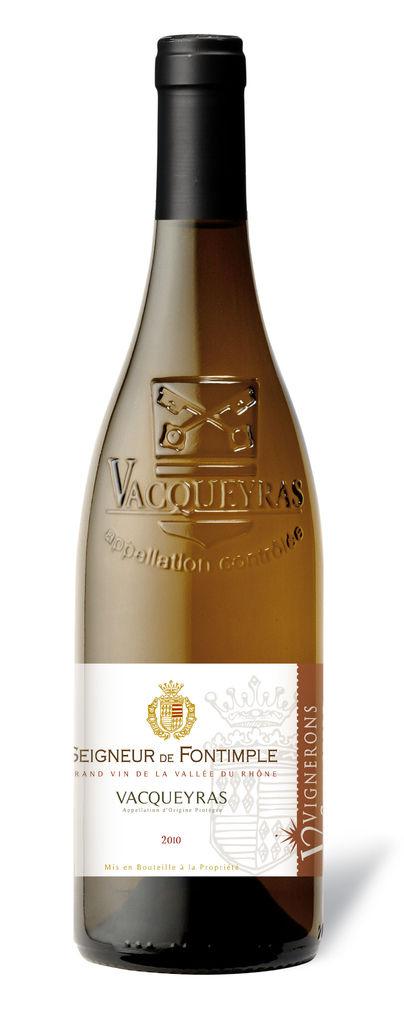 Seigneur de Fontimple White, Vacqueyras 法國楓丹王白葡萄酒 (SWVG05G10)
