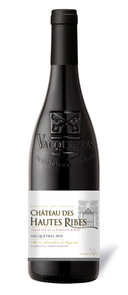 Chateau Des Hautes Ribes, Vacqueyras 法國高地櫻桃紅葡萄酒