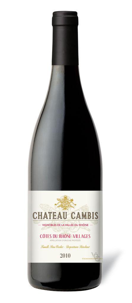 Chateau Cambis Red, Cotes du Rhone 法國凱必斯堡村莊紅葡萄酒