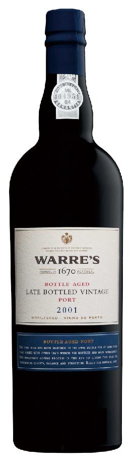 Warres 2001 LB Vintage Port