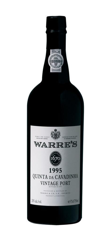 Warres Quinta Da Cavadinha Single Quinta Vintage Port 1995 bottle shot我是卡瓦汀赫