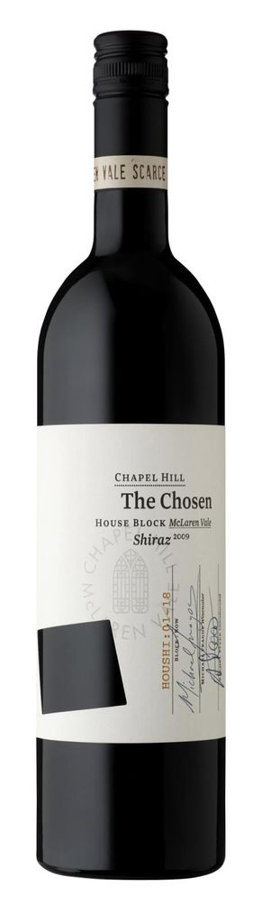 Chapel Hill The Chosen House Block Shiraz教堂山神之選豪斯園紅葡萄酒