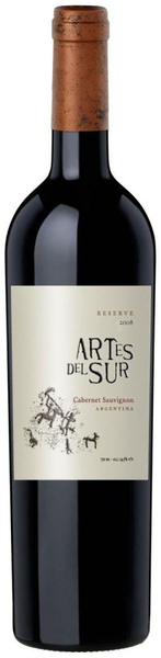 Artes del Sur Reserve Cabernet Sauvignon 南方之星風水卡本內陳釀紅葡萄酒.JPG