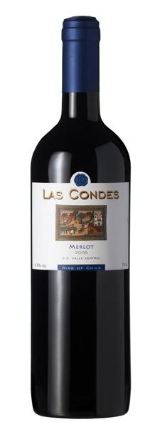 Las Condes Merlot 康帝城市莊園梅洛紅葡萄酒.JPG