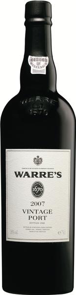 Warre's 2007 Vintage 我是2007年份波特.bmp