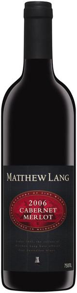 Matthew Lang 紅標麥士連卡貝納梅洛紅葡萄酒.bmp
