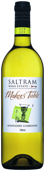 Saltram Maker's Table Unwooded Chardonnay 史創釀酒師清新雪多利白葡萄酒.jpg