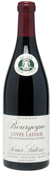 Bourgogne cuvee latour Rouge 布根地紅葡萄酒.jpg