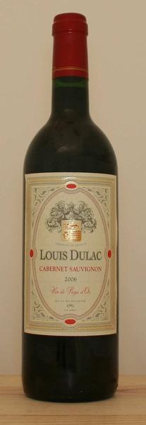 Louis Dulac Cabernet Sauvignon 路易雅克卡貝納紅葡萄酒.jpg
