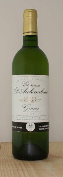 Chateau d'Archambeau White法國香波古堡白葡萄酒.jpg