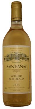 Saint-Anac Moelleux法國聖雅克波爾多甜白酒.JPG