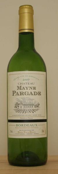 Chateau Le Mayne Pargade法國美恩古堡白葡萄酒.jpg