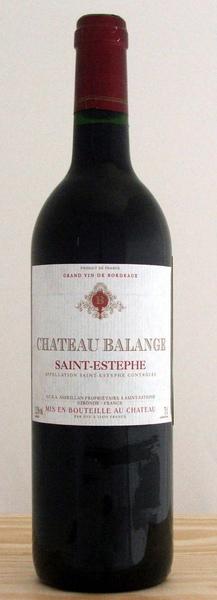 Chateau Balange 法國巴郎古堡紅葡萄酒.bmp