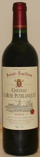 Chateau La Rose Puyblanquet 普依布蘭古堡紅葡萄酒.jpg