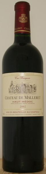 Chateau De Malleret 瑪蕾古堡紅葡萄酒.jpg