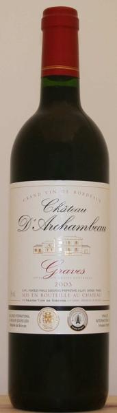 Chateau d'Archambeau Red法國香波古堡紅葡萄酒.jpg