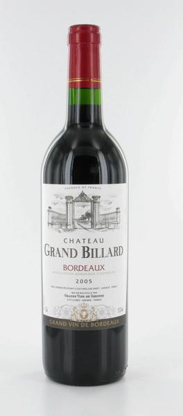 Chateau Grand Billard 法國比亞迪古堡紅葡萄酒.bmp