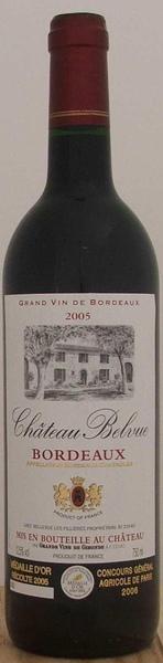 Chateau Belvue 法國貝芙古堡紅葡萄酒.jpg