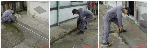 白蟻防治施工-土壤灌注