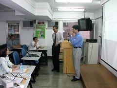 欣利李先生擔任殺菌劑研討會009主持人