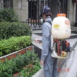社區環境消毒除蟲