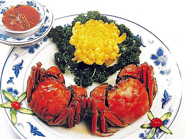 圖1 九秋吃湖蟹〜我很江南Style(之一)