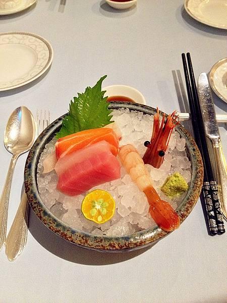 圖1 綜合生魚片