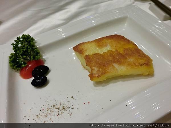 圖3 吉品1580套餐菜式之三香煎鱈魚